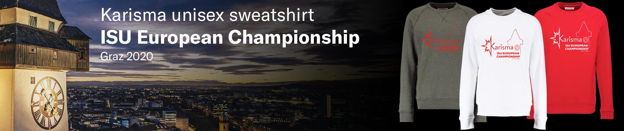 ISU European Championship sweatshirt