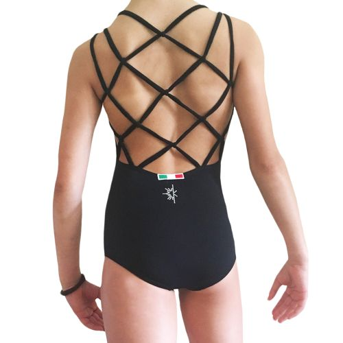 Asia leotard with crossing back