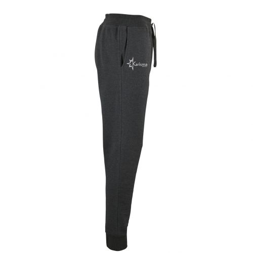 Karisma pants in fleece fabric with embroidered logo